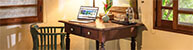 Waimarie - King guest room 2 desk features